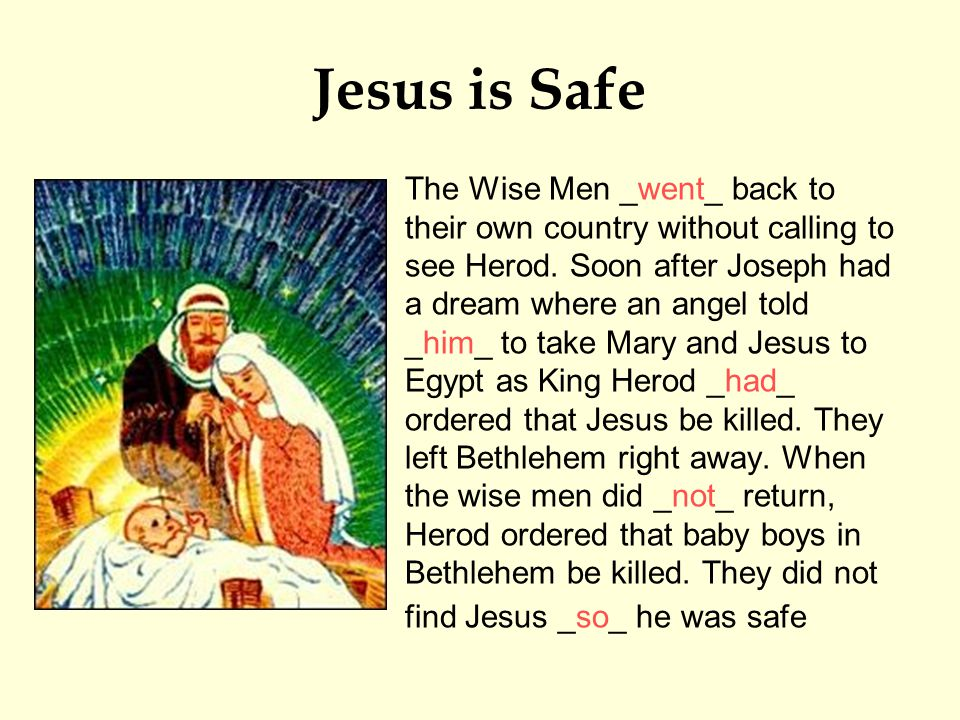 Jesus is Safe