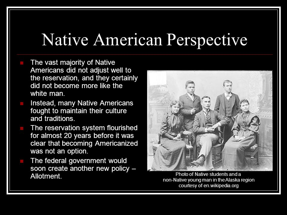 Native American Perspective