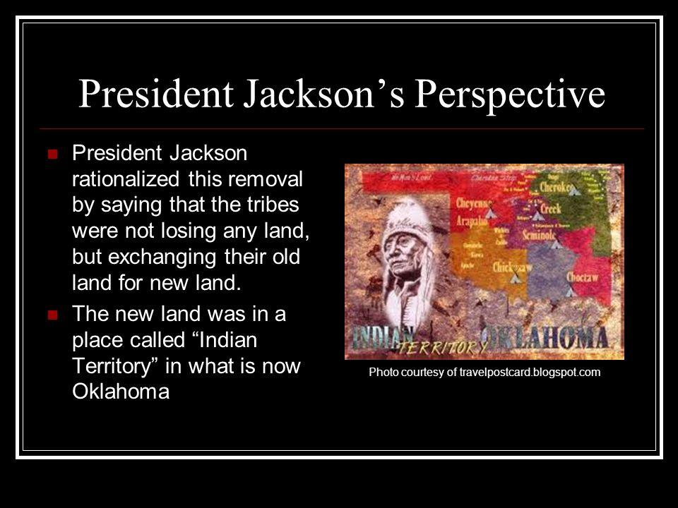 President Jackson's Perspective