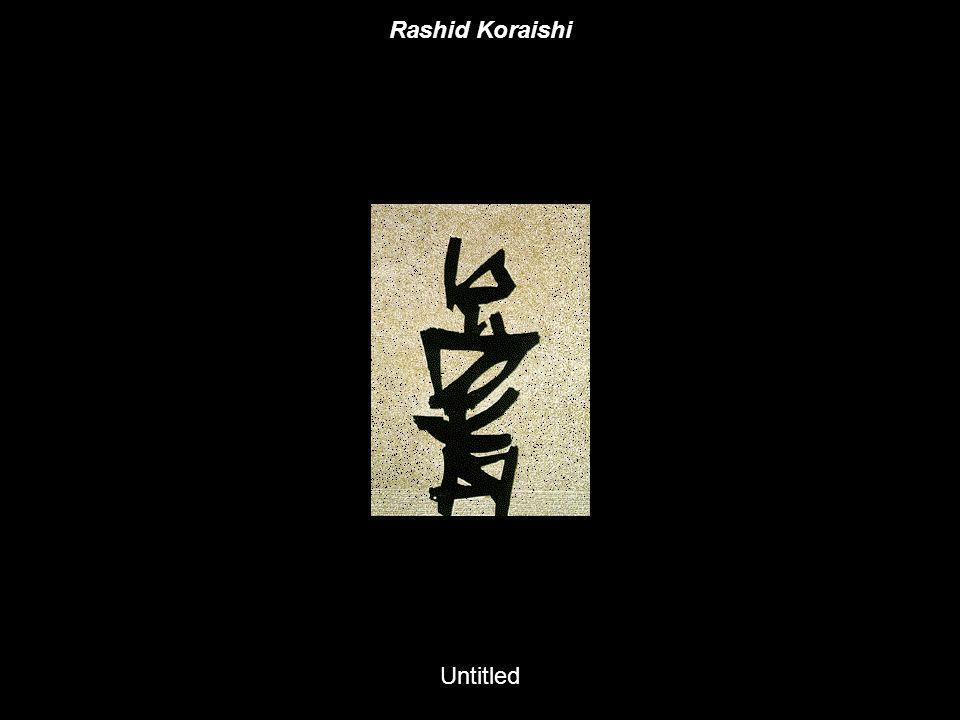 Rashid Koraishi Untitled