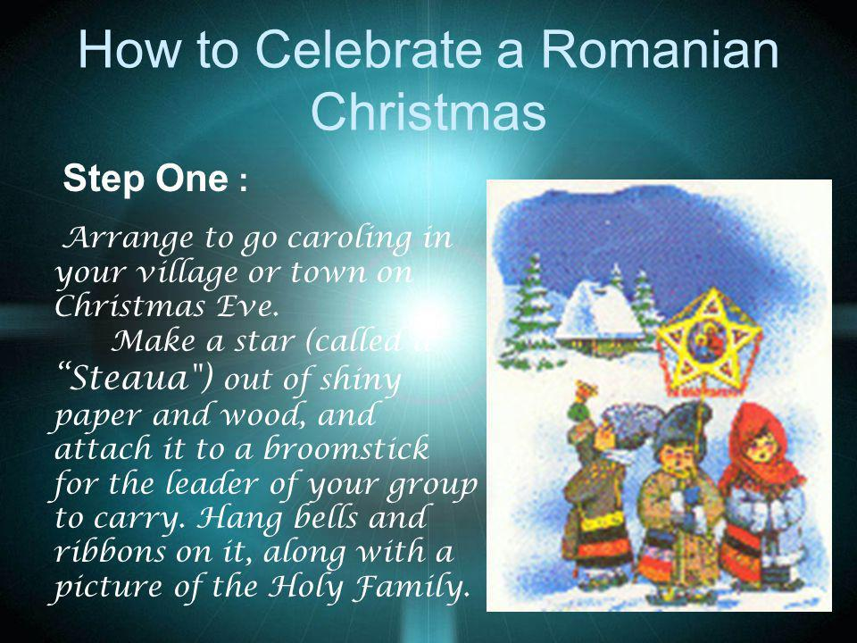 How to Celebrate a Romanian Christmas