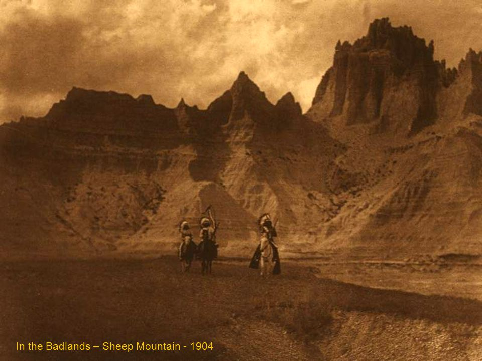 In the Badlands – Sheep Mountain - 1904