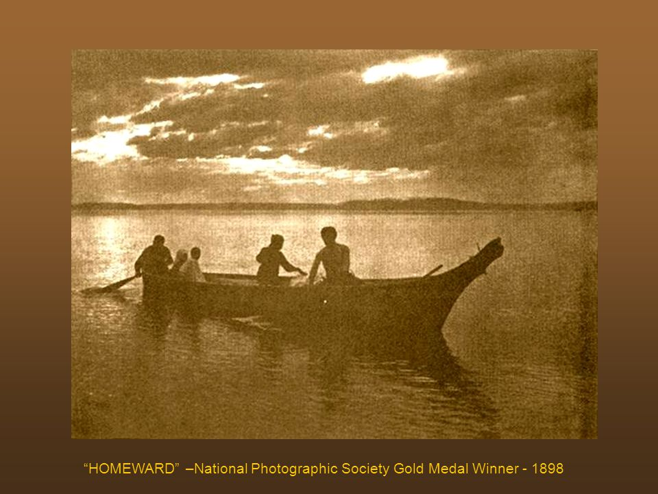 HOMEWARD –National Photographic Society Gold Medal Winner - 1898