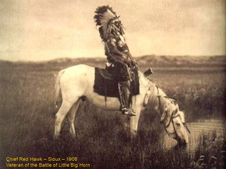 Veteran of the Battle of Little Big Horn