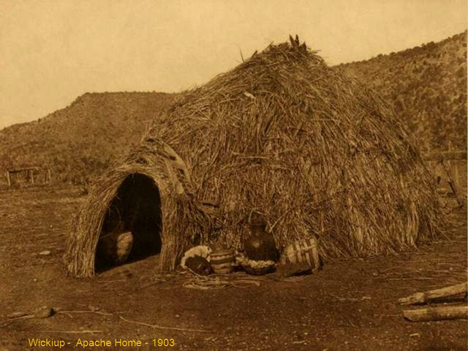 Primitive Apache home - 1903