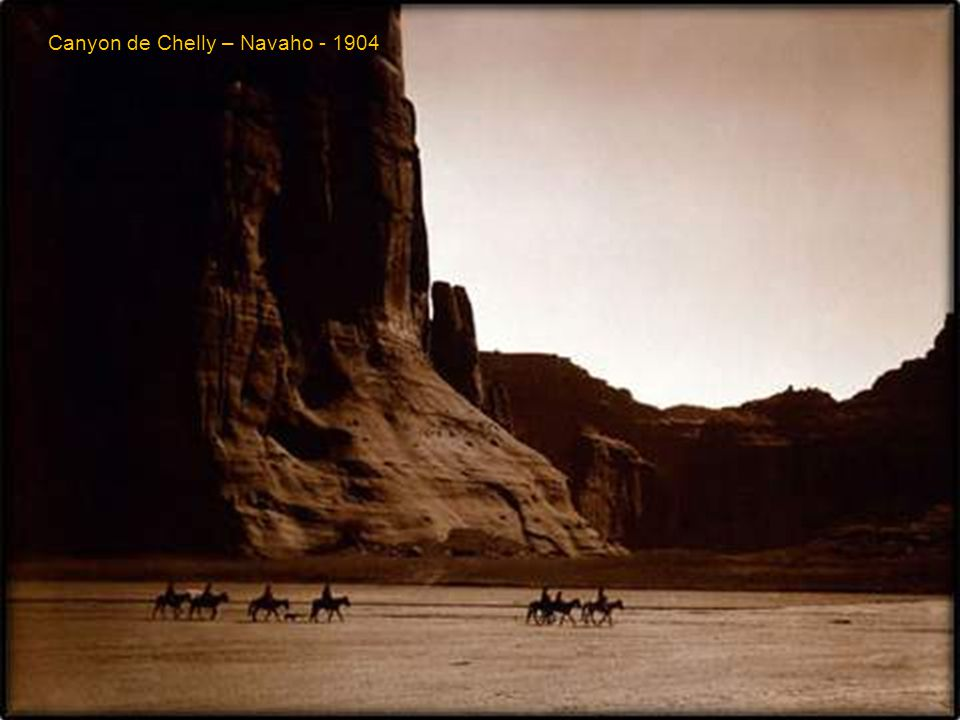 Canyon de Chelly – Navaho - 1904