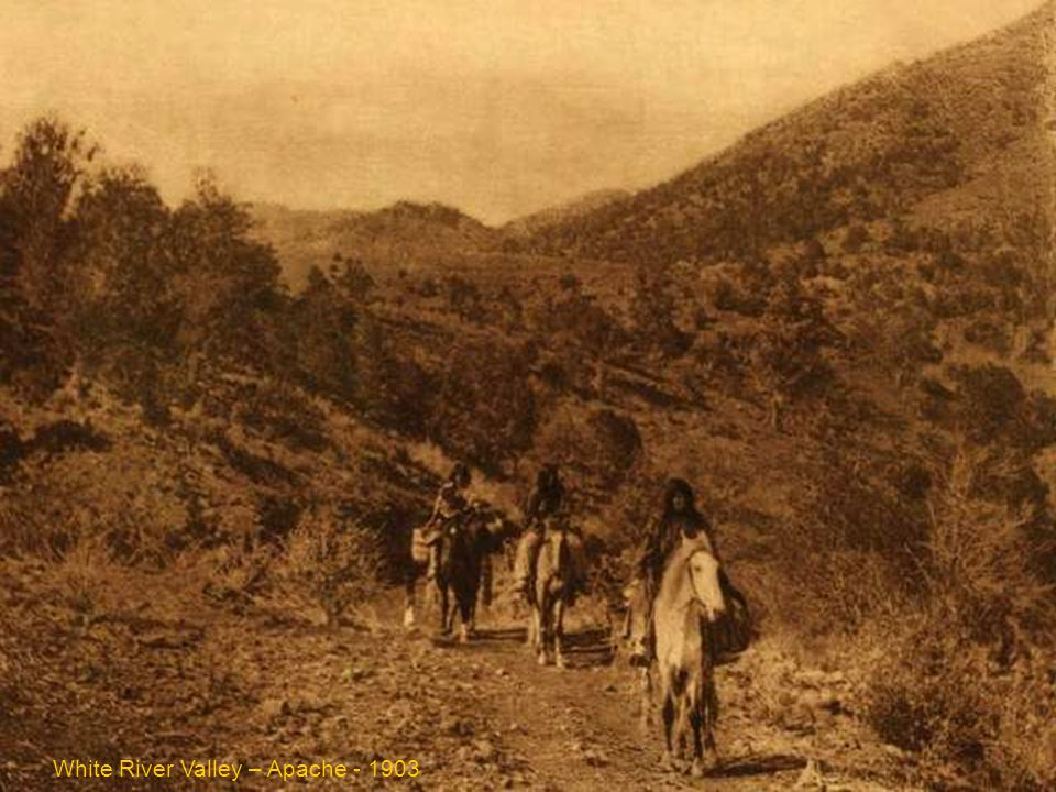White River Valley – Apache - 1903