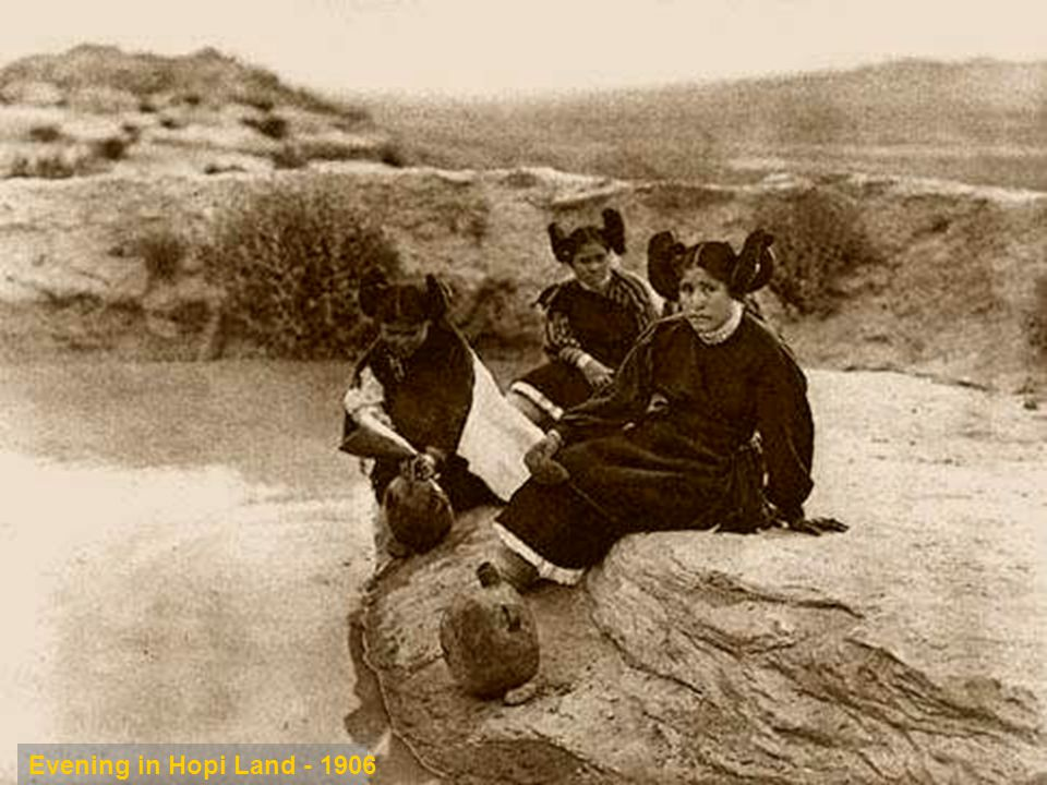 Evening in Hopi Land - 1906 Evening in Hopi Land - 1906