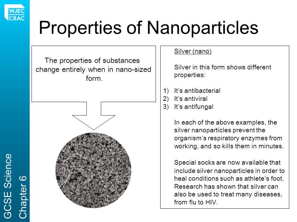 Properties of Nanoparticles