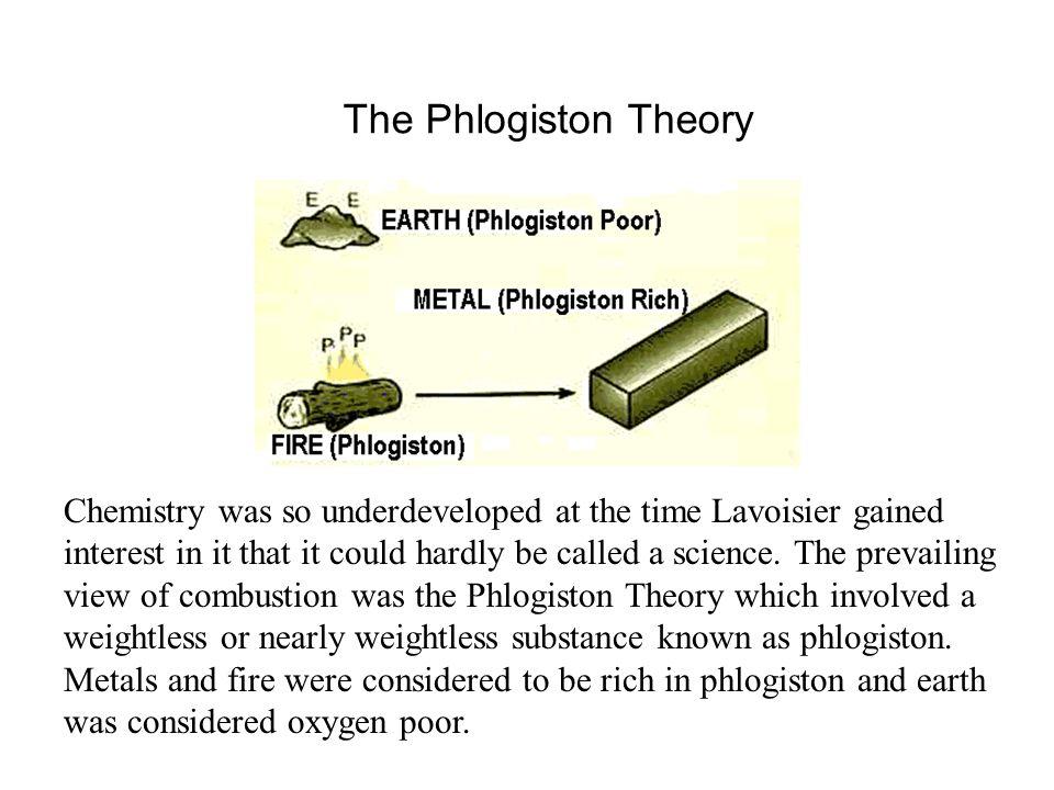 The Phlogiston Theory