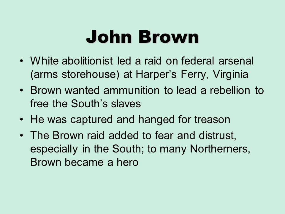 john brown and the women of the brown familys attack on the federal arsenal at harpers ferry virgini Captain john cook harpers ferry native to sign new novel continued on page 2 john brown sesquicentennial events kick off in april to history: the wedding of virginia.