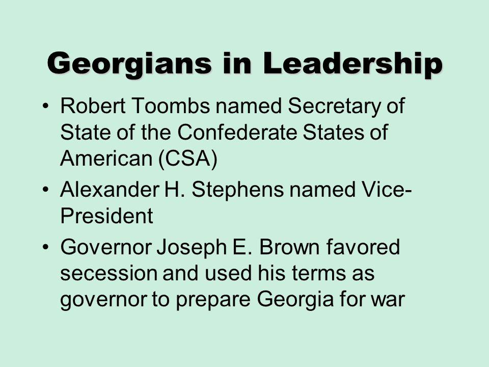 Georgians in Leadership