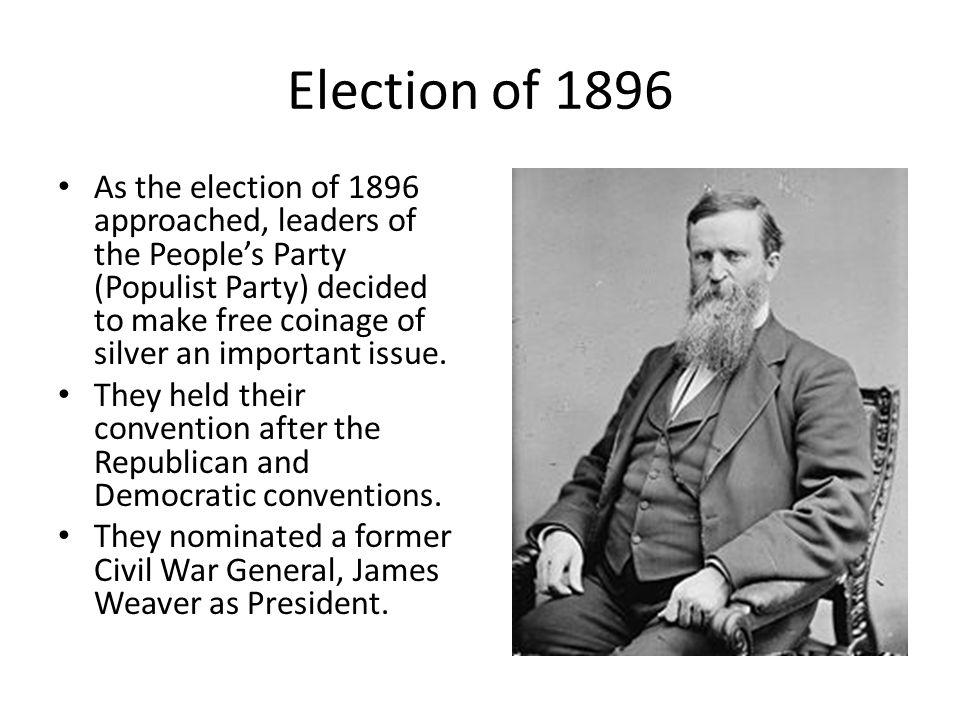 Election of 1896