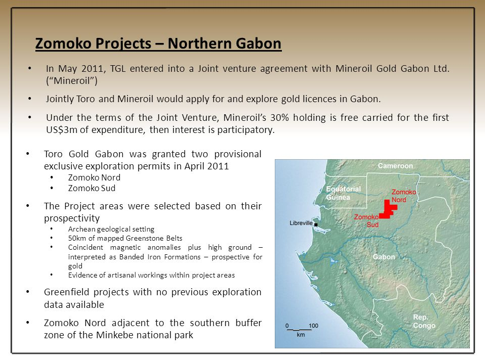 Zomoko Projects – Northern Gabon