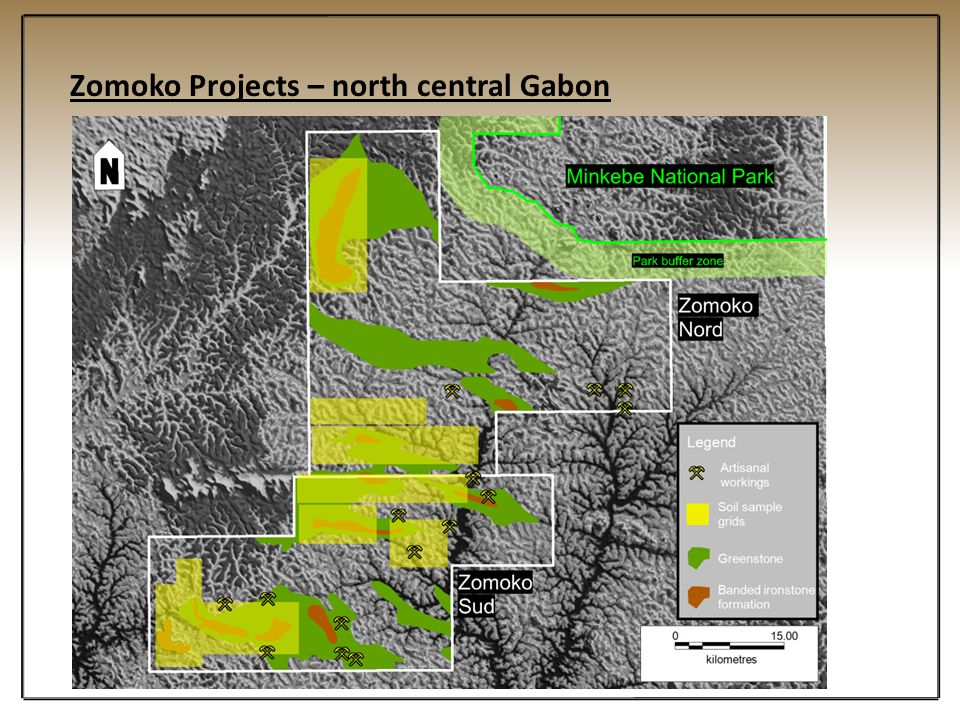 Zomoko Projects – north central Gabon