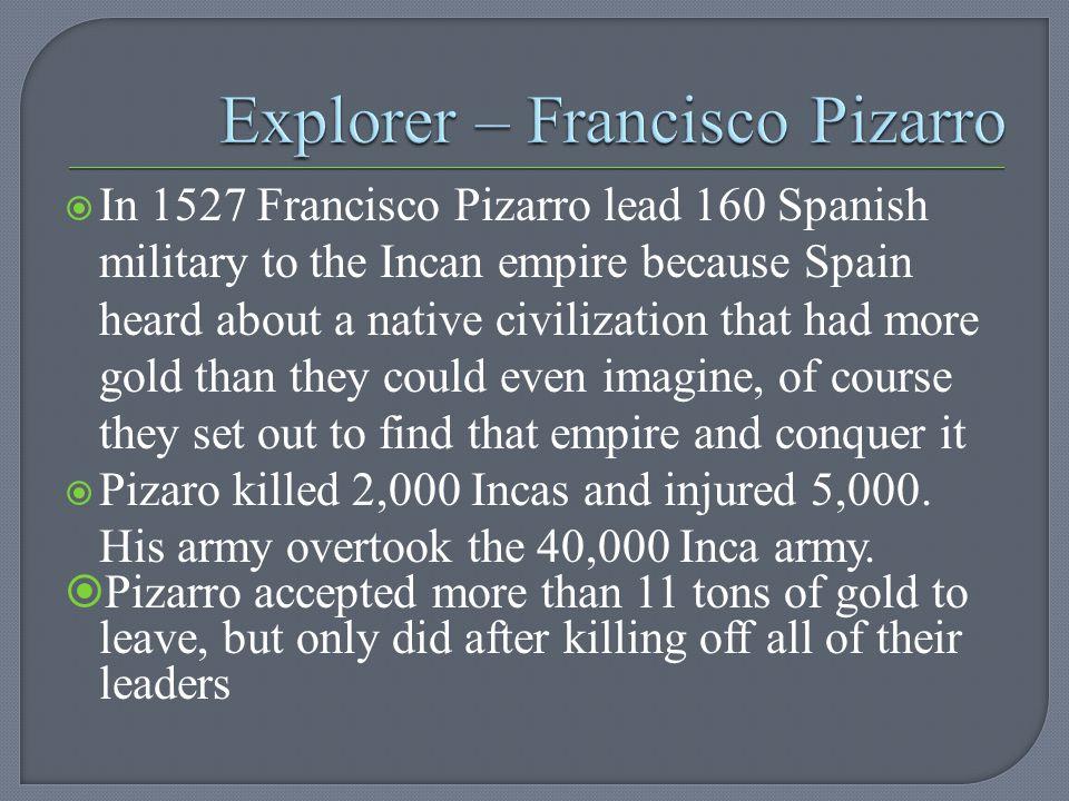 Explorer – Francisco Pizarro