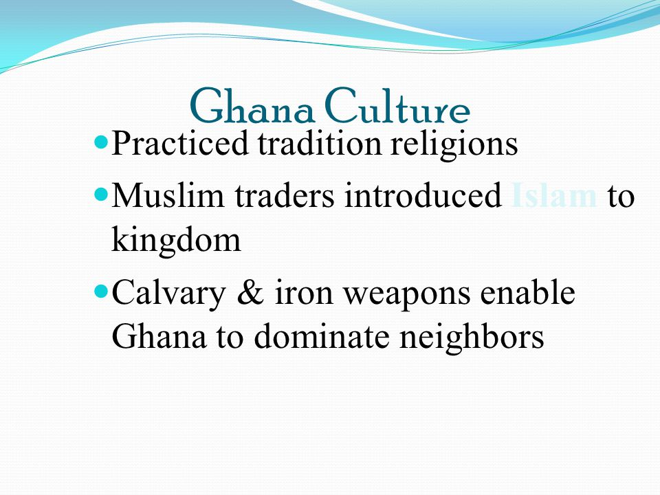 Ghana Culture Practiced tradition religions