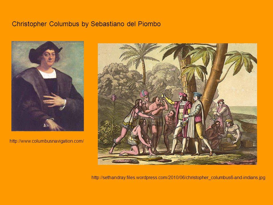 Christopher Columbus by Sebastiano del Piombo