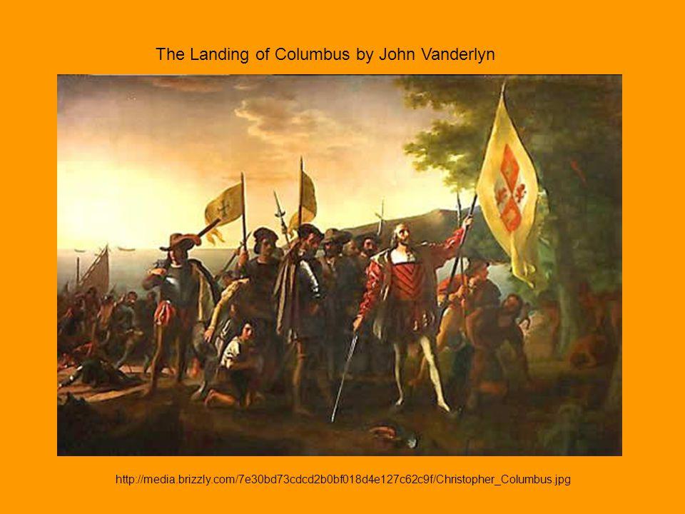 The Landing of Columbus by John Vanderlyn