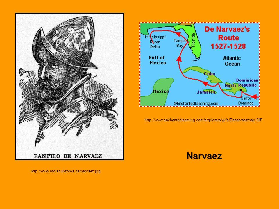 http://www.enchantedlearning.com/explorers/gifs/Denarvaezmap.GIF Narvaez.