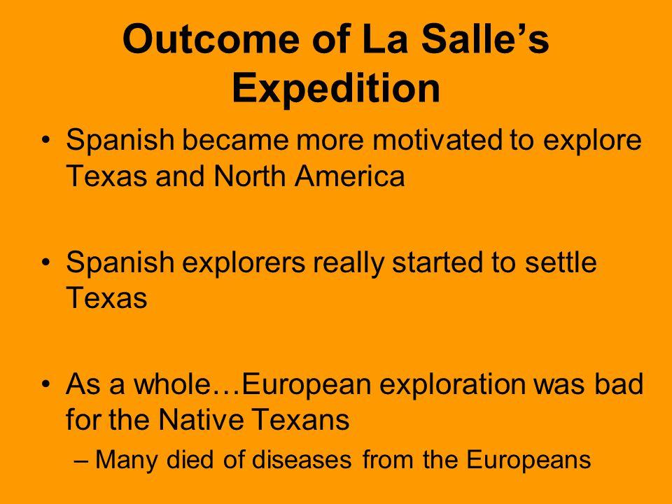 Outcome of La Salle's Expedition