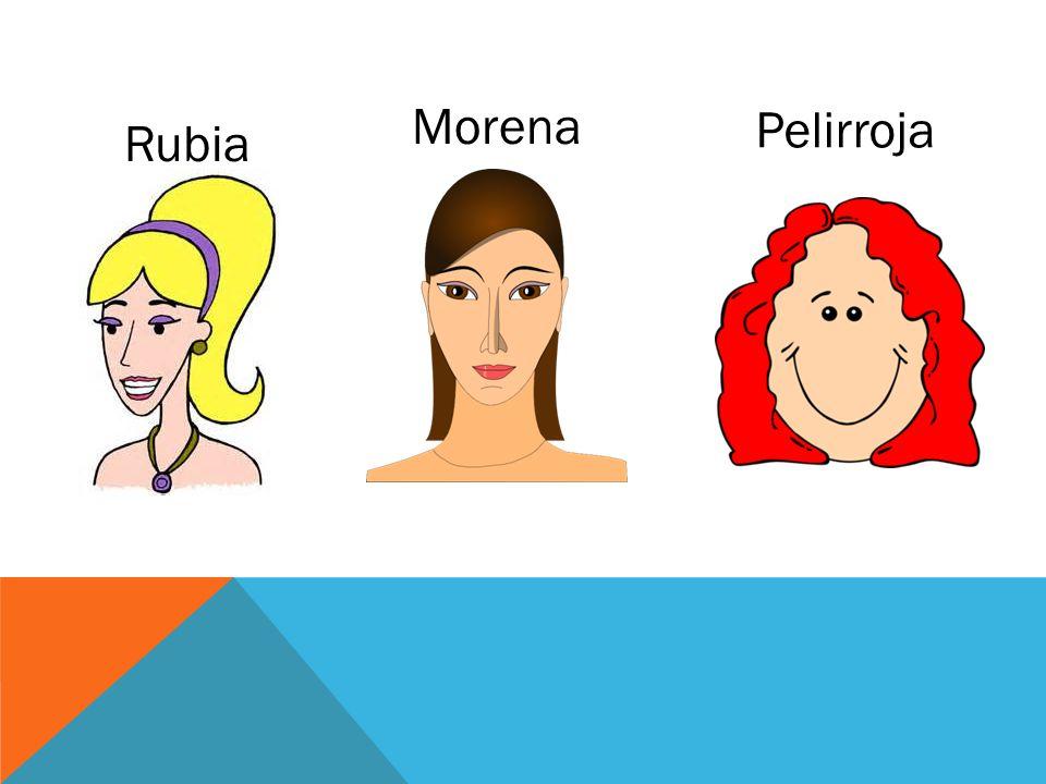Morena Pelirroja Rubia