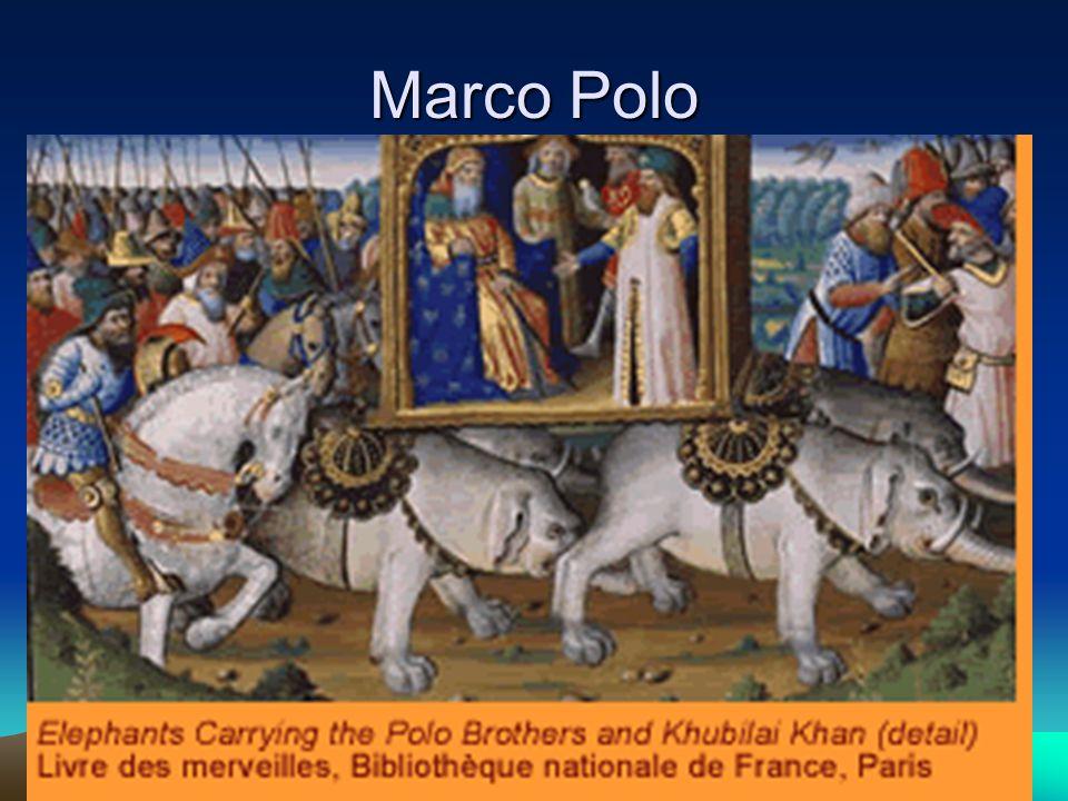 Marco Polo Italian merchant and explorer