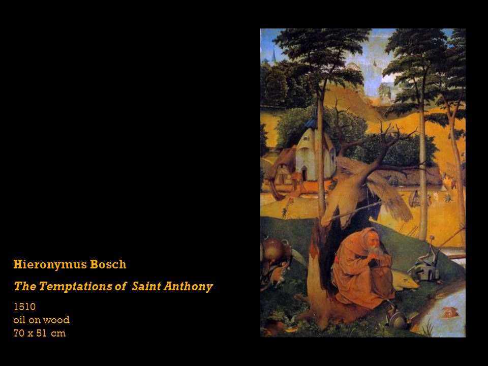 The Temptations of Saint Anthony