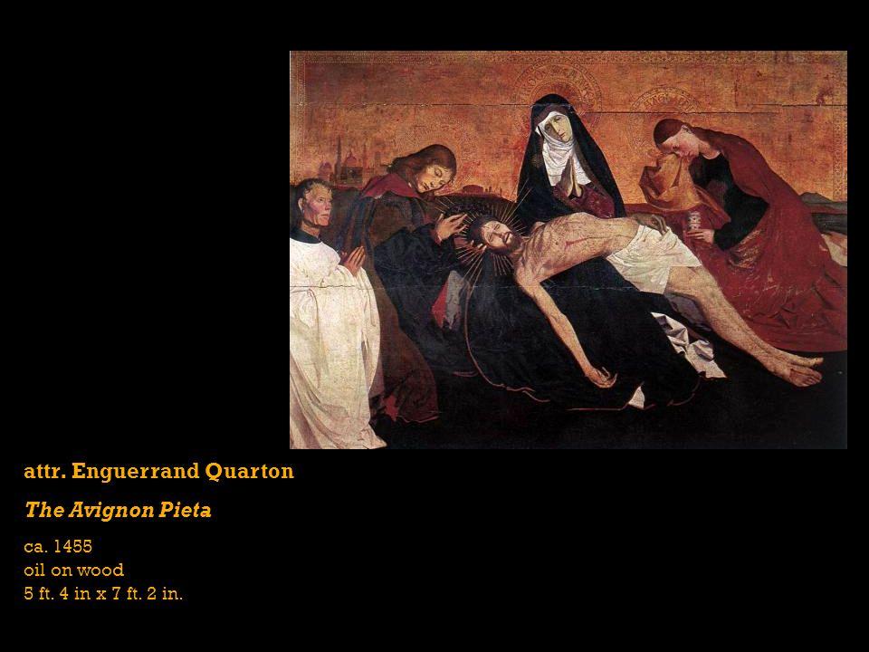 attr. Enguerrand Quarton The Avignon Pieta