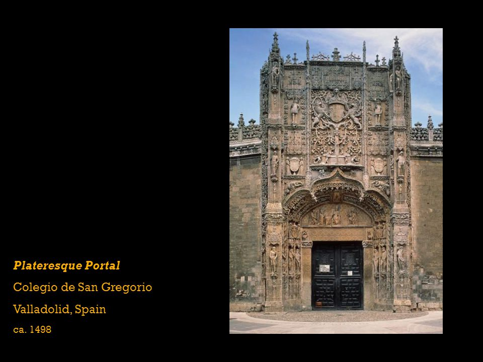 Colegio de San Gregorio Valladolid, Spain