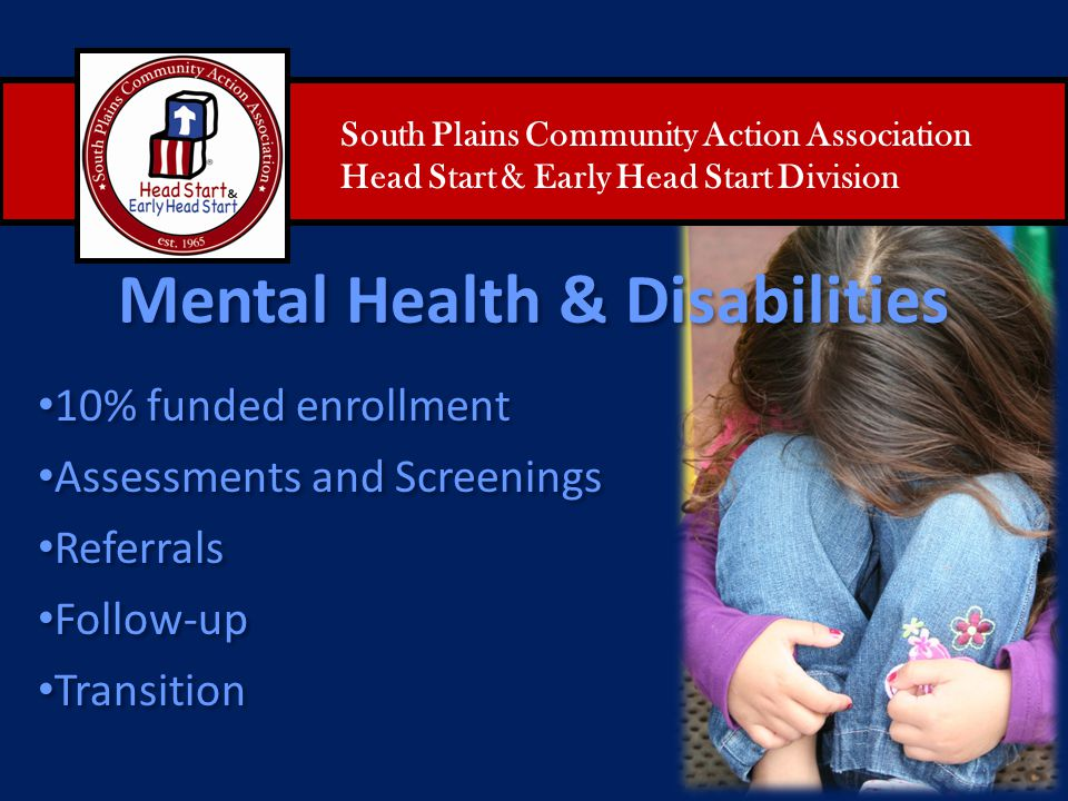 Mental Health & Disabilities