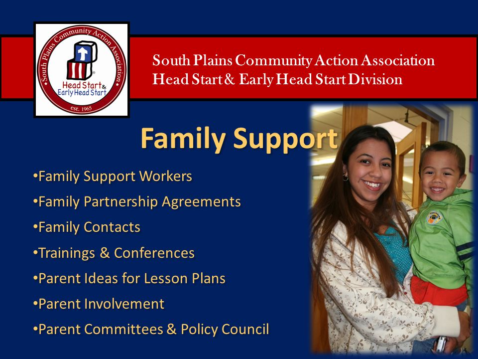 Family Support South Plains Community Action Association