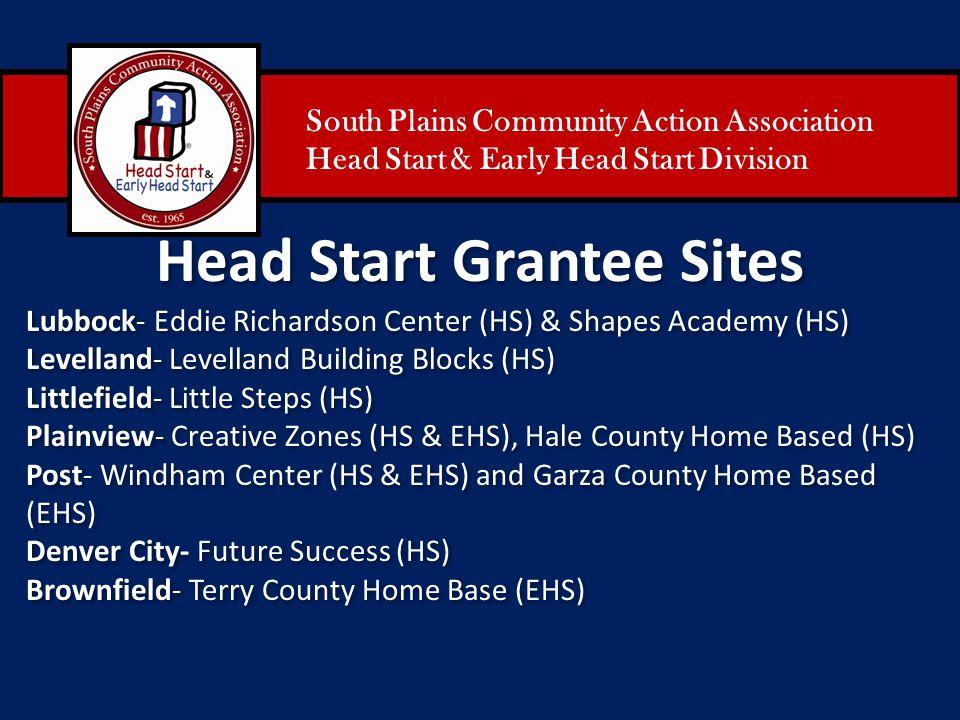 Head Start Grantee Sites