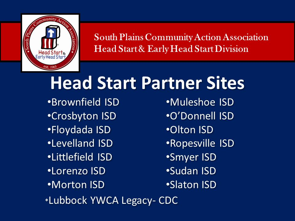 Head Start Partner Sites
