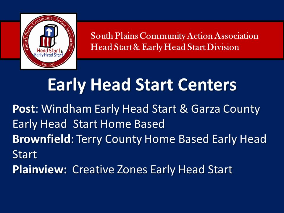 Early Head Start Centers