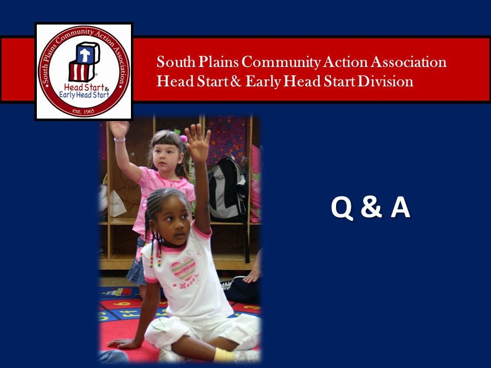 Q & A South Plains Community Action Association