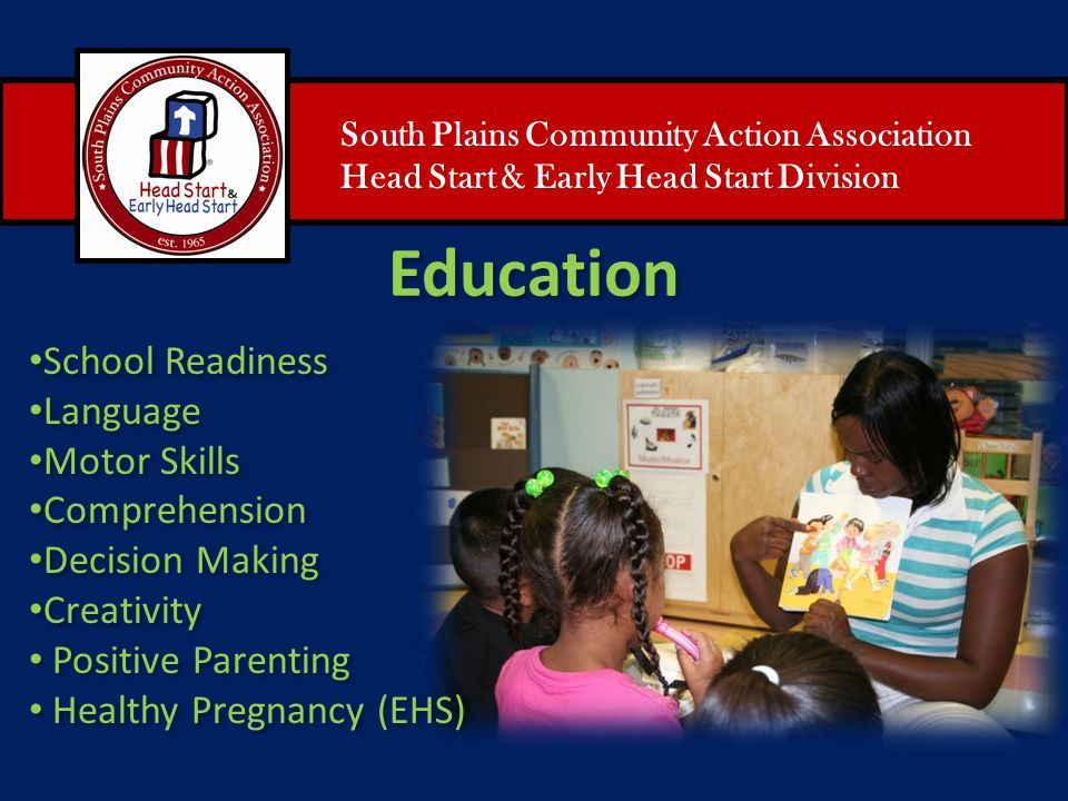 Education School Readiness Language Motor Skills Comprehension