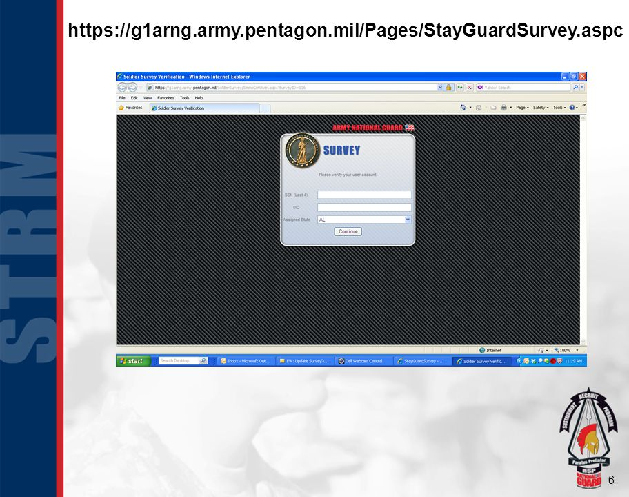 https://g1arng.army.pentagon.mil/Pages/StayGuardSurvey.aspc