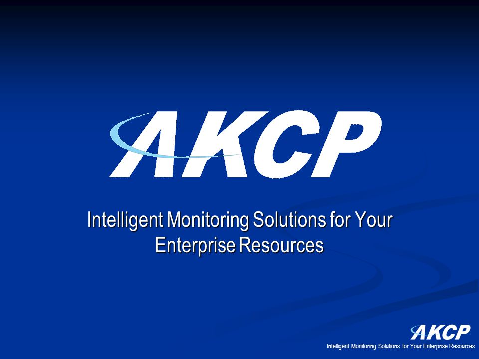 Intelligent Monitoring Solutions for Your Enterprise Resources
