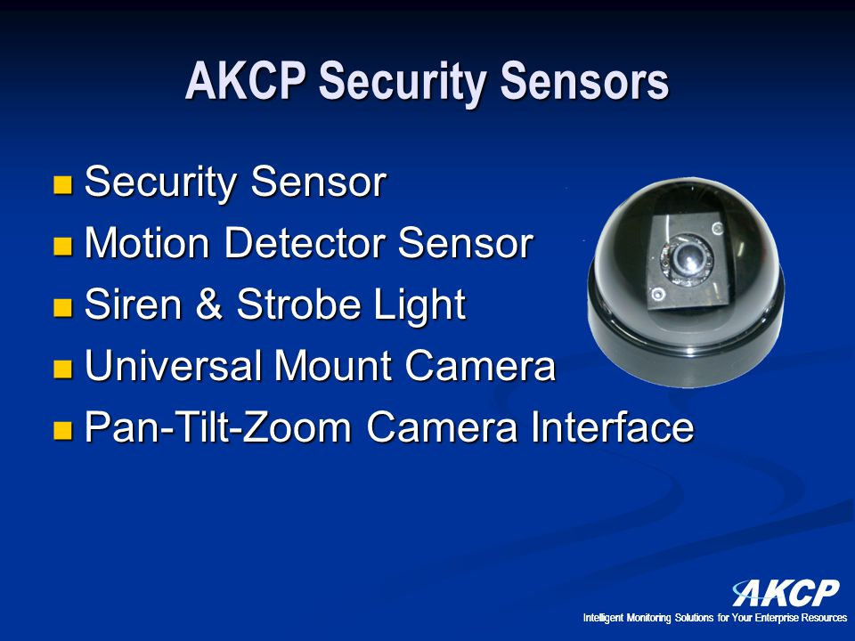 AKCP Security Sensors Security Sensor Motion Detector Sensor