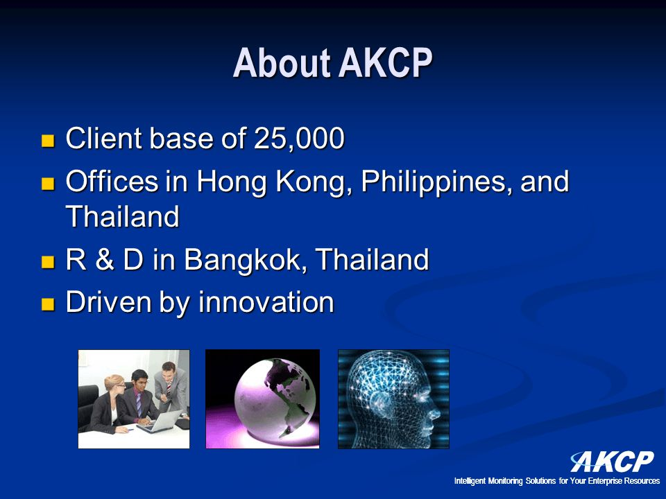 About AKCP Client base of 25,000