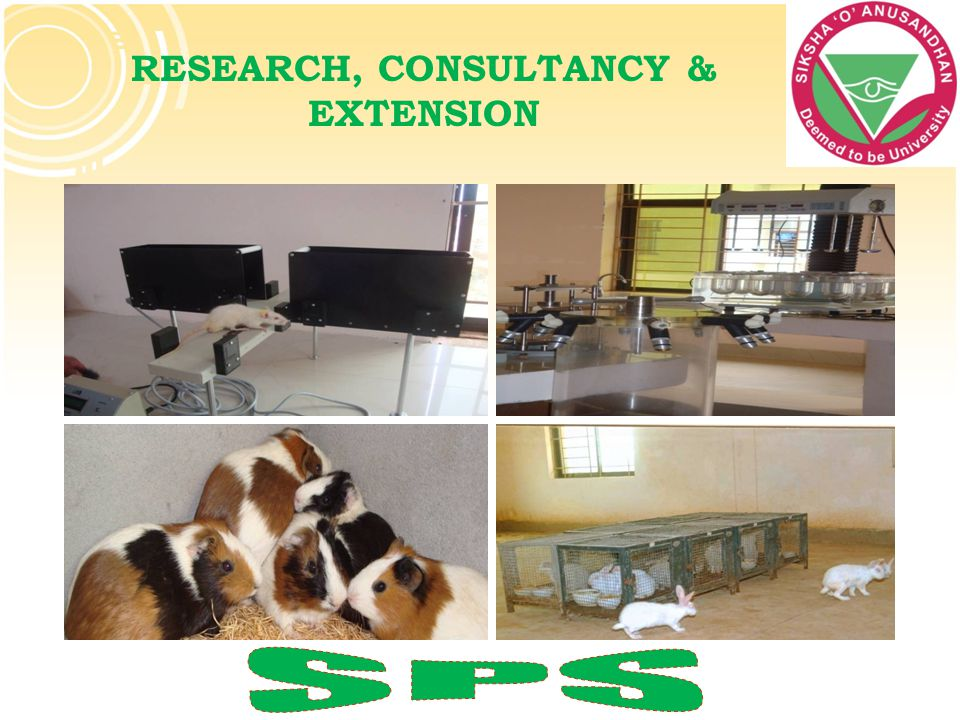 RESEARCH, CONSULTANCY & EXTENSION
