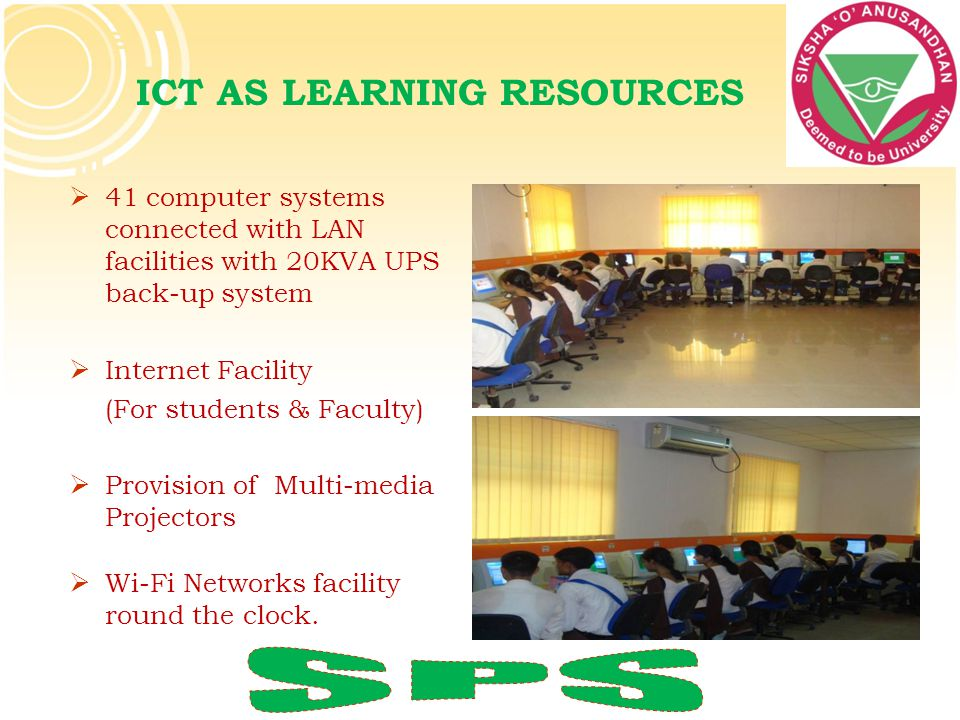 ICT AS LEARNING RESOURCES