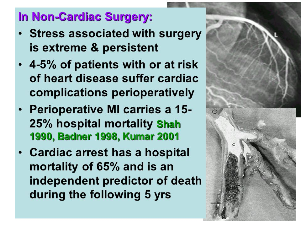 In Non-Cardiac Surgery: