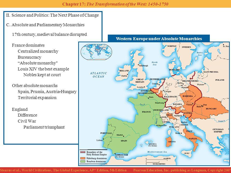 Western Europe under Absolute Monarchies