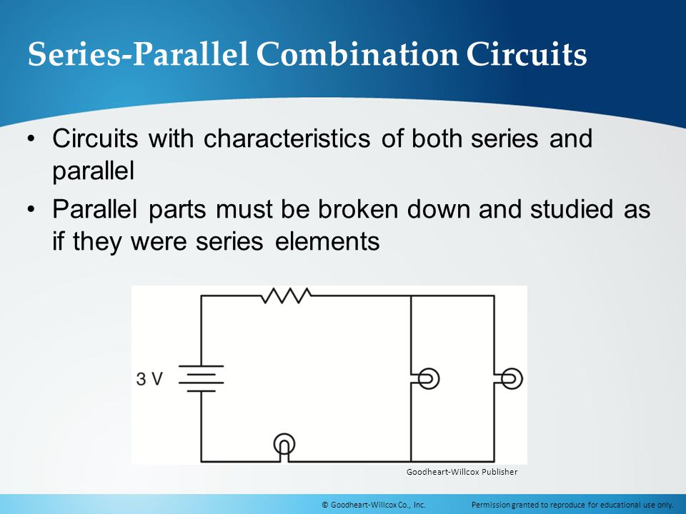 Series-Parallel Combination Circuits