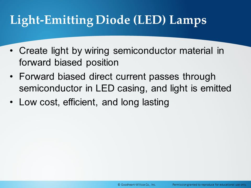 Light-Emitting Diode (LED) Lamps