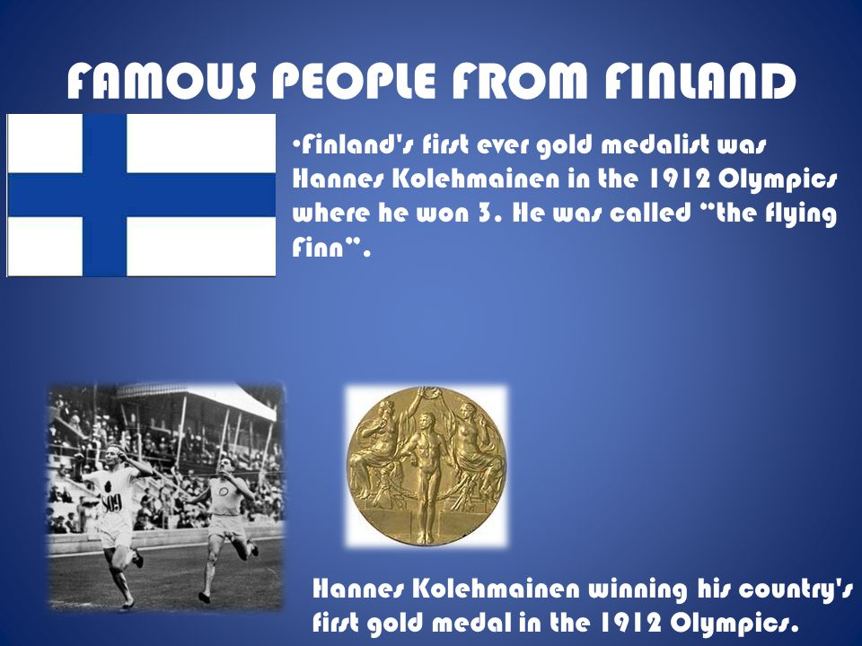 FAMOUS PEOPLE FROM FINLAND