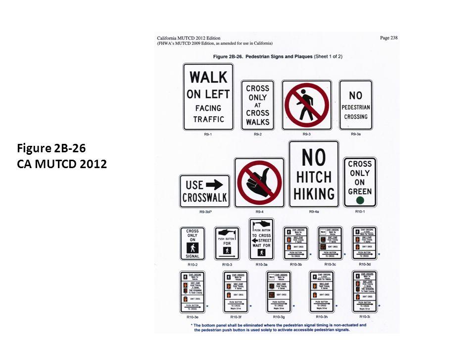 Figure 2B-26 CA MUTCD 2012