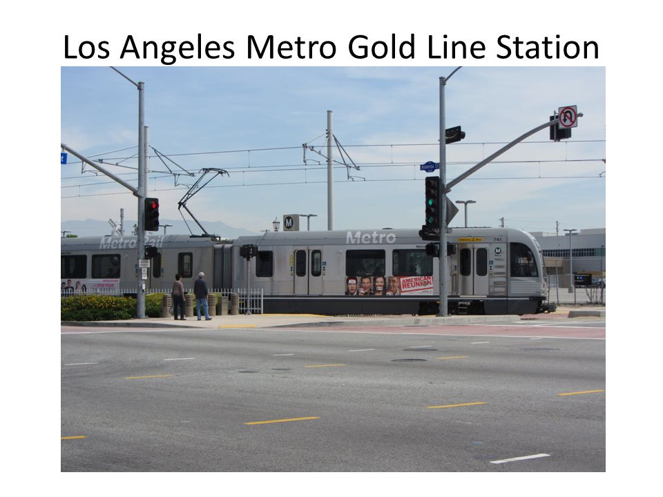 Los Angeles Metro Gold Line Station